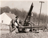 Early Construction of the Cookville Gas System in 1952