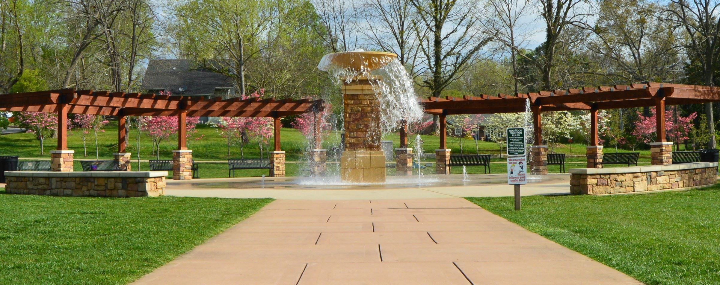 Dogwood Park Fountain