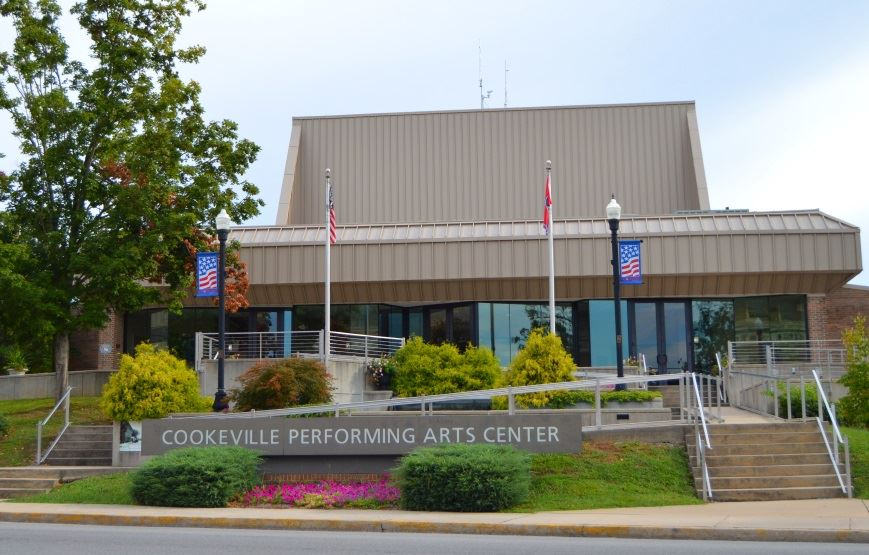 Cookeville Performing Arts Center building