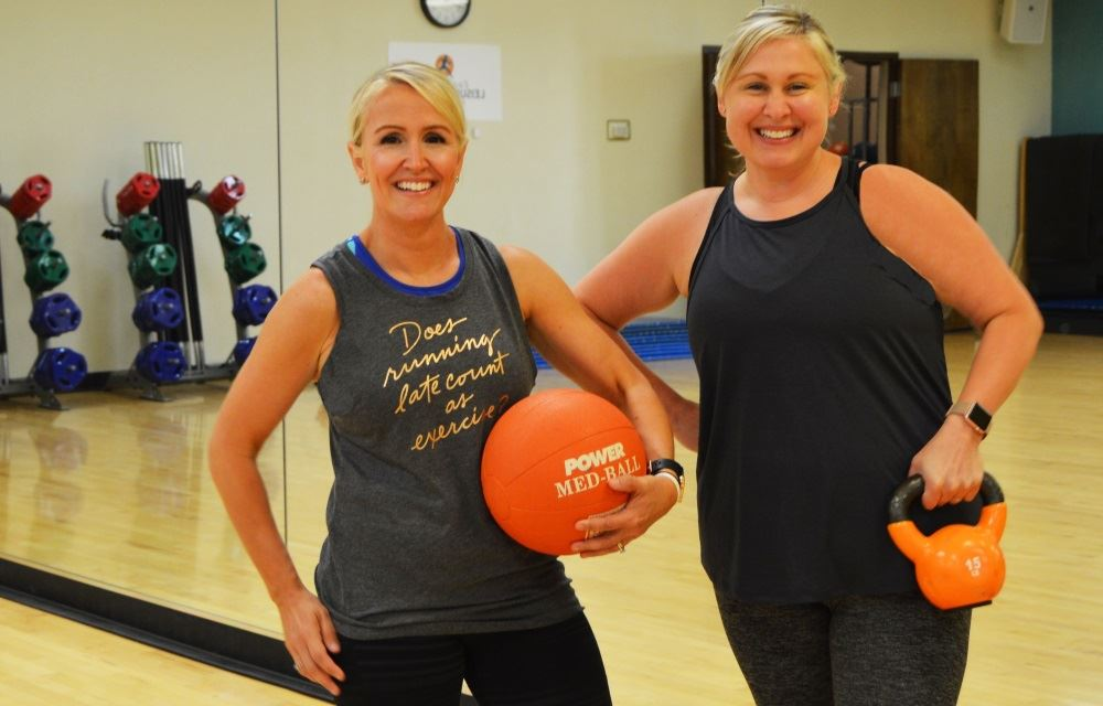 Fitness instructors at the Cane Creek Recreation Center