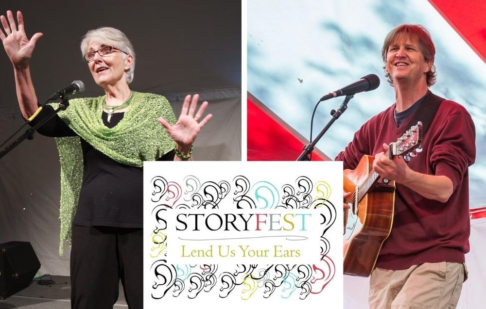 Storytellers will be leading workshops