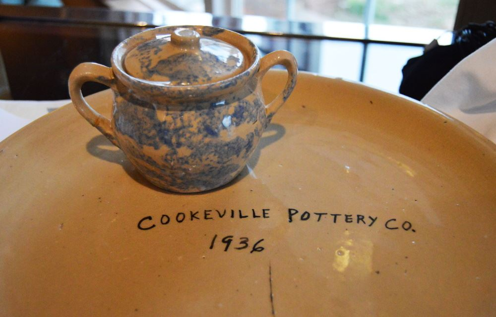 Cookeville Pottery Company exhibit at Cookeville History Museum