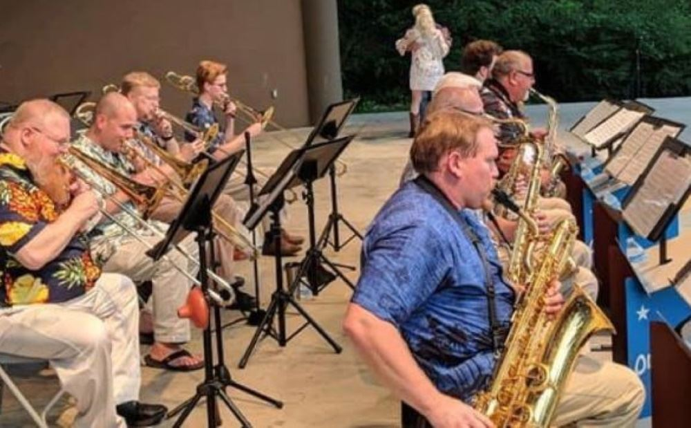 Big Band Sound Orchestra performs at Dogwood Park
