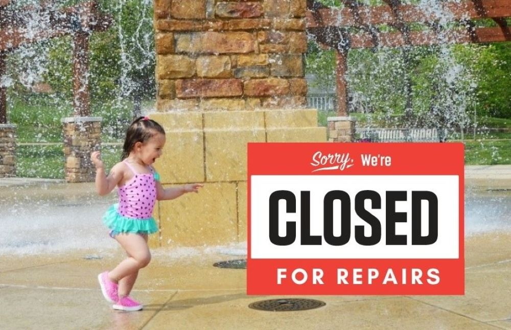 Dogwood Park fountain is closed for repairs