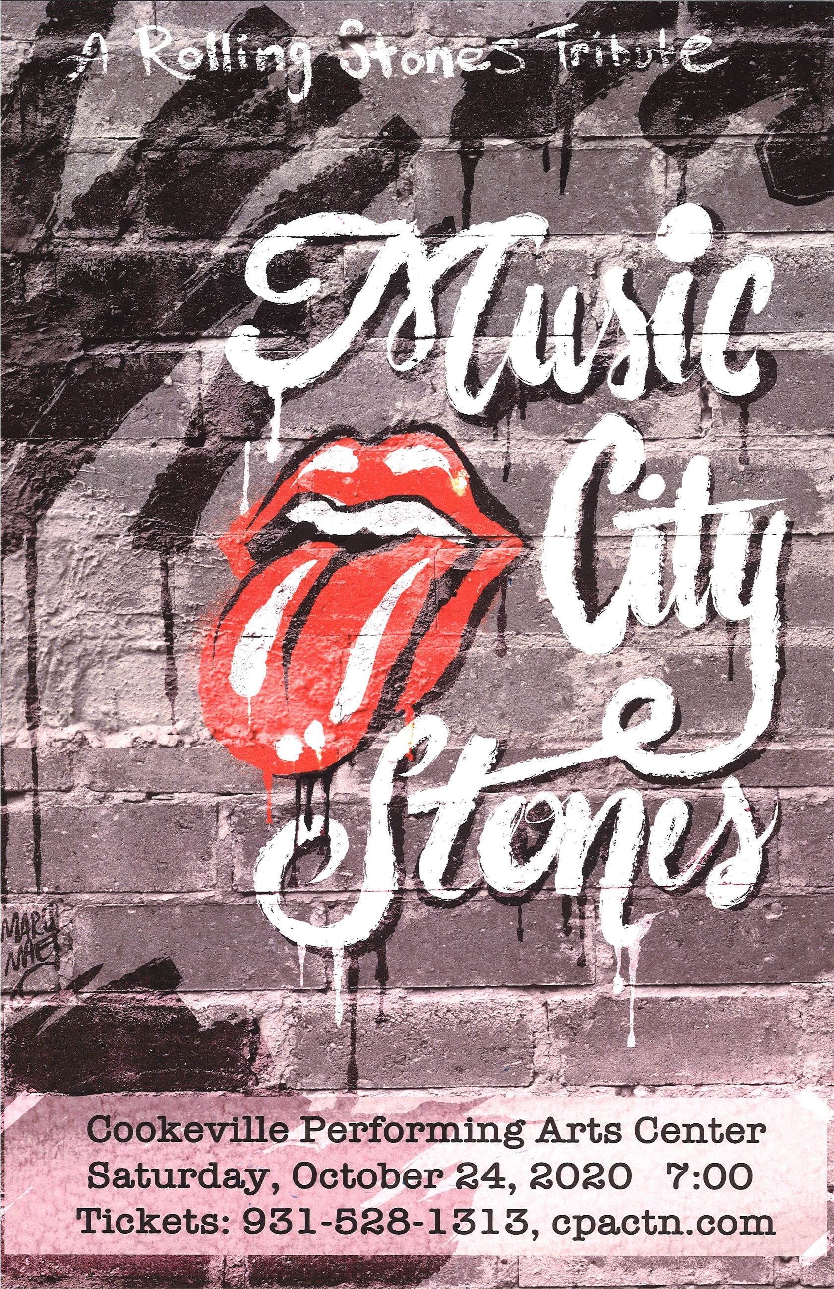 music city stones poster