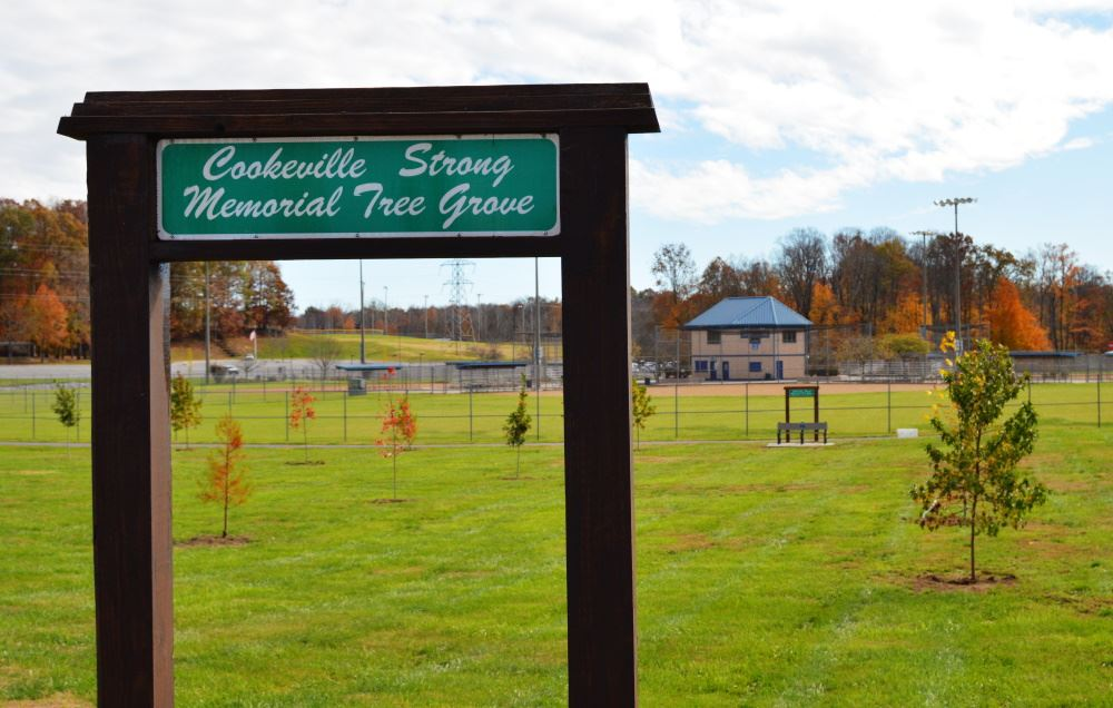 Cookeville Strong Memorial Tree Grove