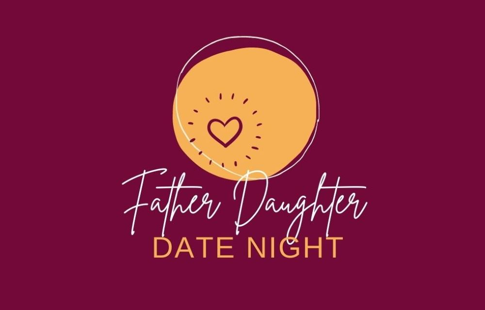 father daughter logo