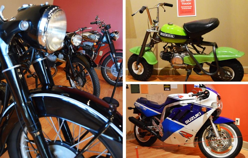 Two-Wheeled Wonders exhibit at Cookeville History Museum